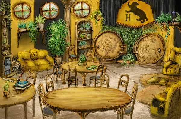 What Does The Hufflepuff Common Room Look Like Quora Rowling herself, the most most secretive of all schools. what does the hufflepuff common room