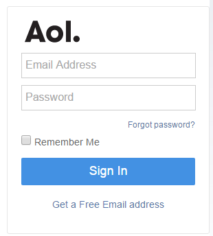 How to sign into the aol mail page quora enter your user name or aol email address and your password in the respective fields publicscrutiny Choice Image