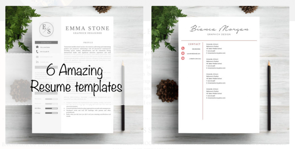 Where can I can get free modern resume templates from? - Quora