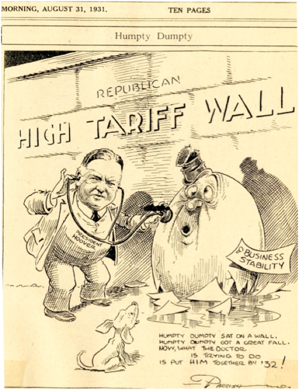 Image result for tariff tax cartoon