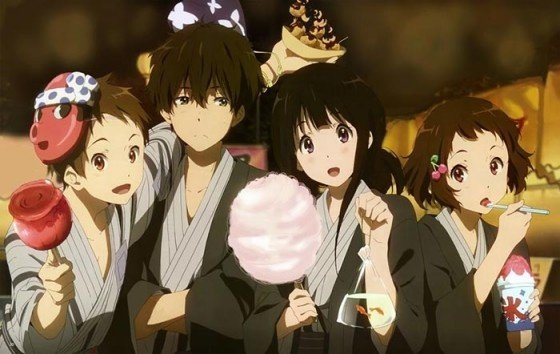 Amazing Storyline And One Of The Most Relatable Characters Ive Come Across In Anime Hyouka Is A Perfect Blend Mystery Slice Life Genres
