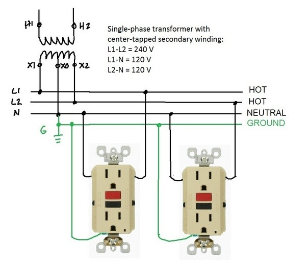 Why is a hot wire connected to the neutral of an EPD or GFI? - Quora