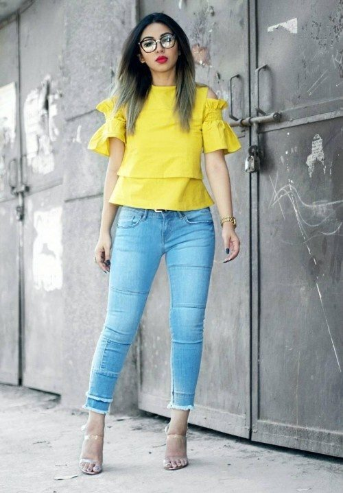 Which color of pants are suitable with a yellow shirt? - Quora