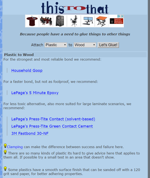 Thereu0027s A Website Called Thistothat.com. Hereu0027s Its Recommendations: