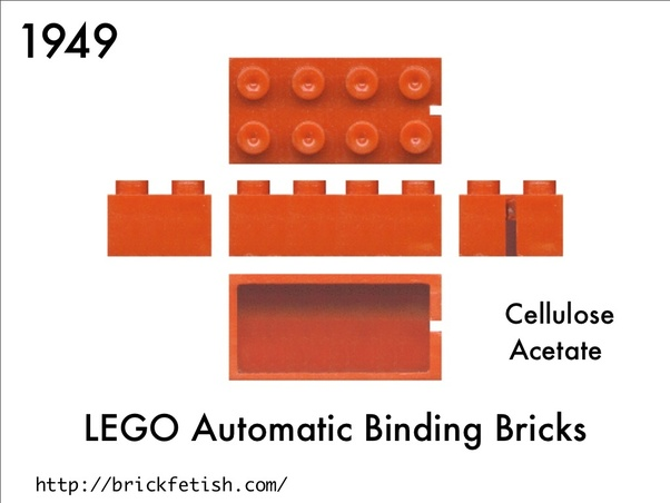 Before Lego were invented, what did plastic building bricks look