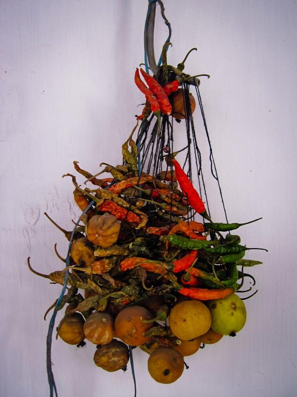 Any scientific reasons behind the nimbu mirchi (lemon and