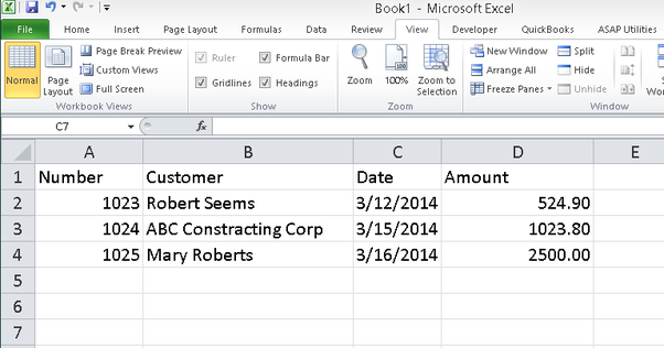 How To Import Transactions From A CSV File Into QuickBooks Desktop - Quickbooks invoice import csv