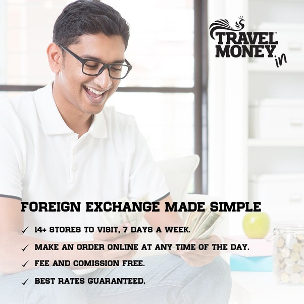Buying and selling foreign currency
