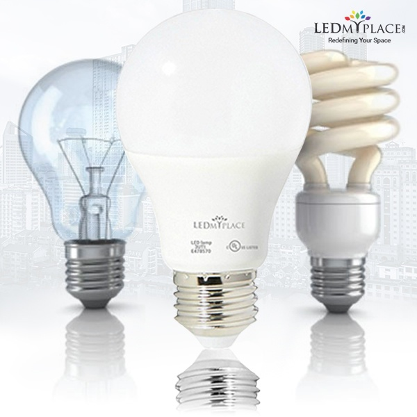 What Is The Difference Between A Cfl An Led And An