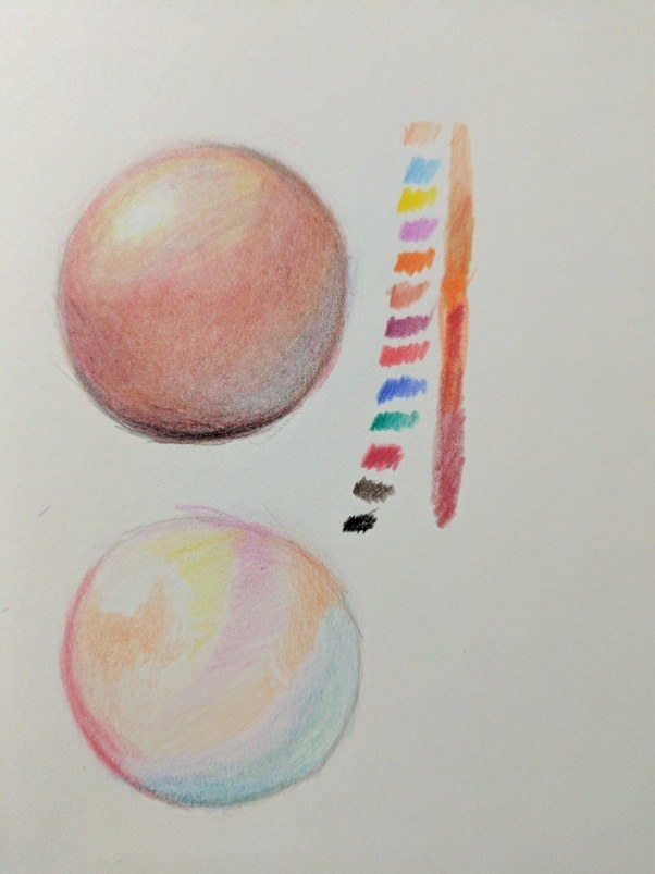 how to expertize in some good color pencil sketching techniques quora