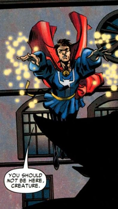 Could any of the other Avengers become a sorcerer like