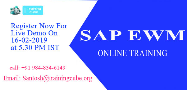 Who provides SAP EWM online training? - Quora