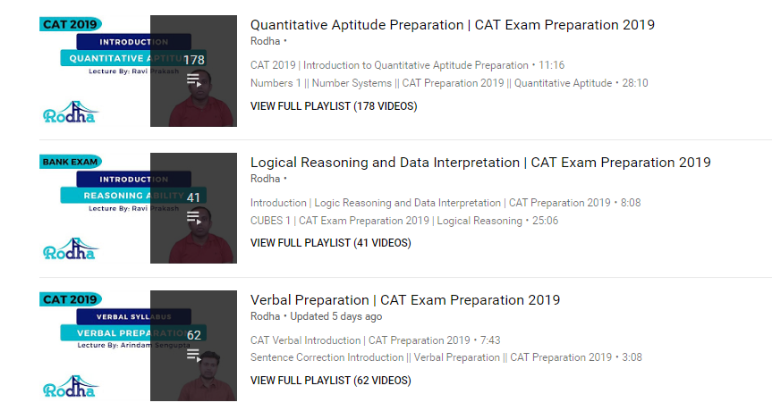 Where can I get tutorials for CAT Quant? - Quora