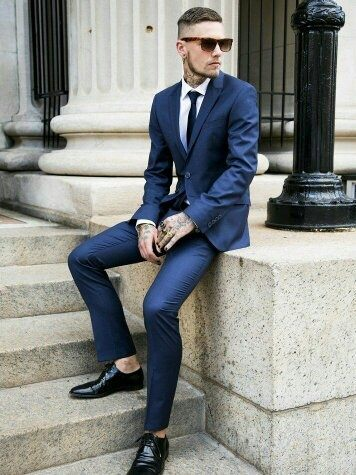 Or if none of this suits you, then you can always wore any color of the shoes that you like with a matching color belts, ties or other accessories.