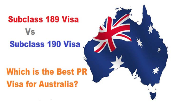 What is the difference between subclass 189 and 190 Australian visa