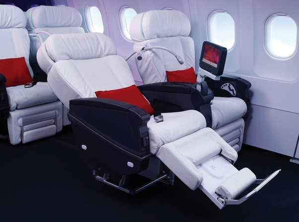 Would you prefer to travel first class on United, Virgin America, or ...