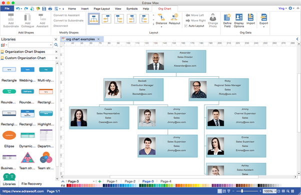 Is there any program similar to Microsoft Visio for Mac high