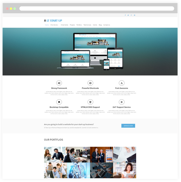 Whats your favorite source for website themes and templates quora lt start up free responsive business start up wordpress theme responsive joomla and wordpress themes wajeb Image collections