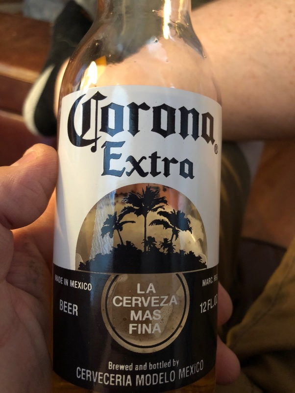 is corona beer made with corn