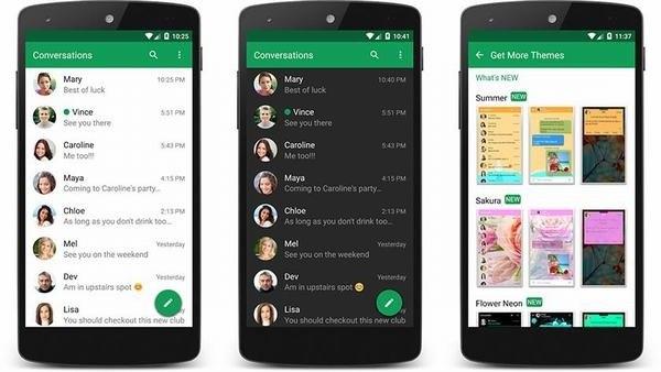 Bao gồm hơn 800 biểu tượng cảm xúc có sắn, widget, trả lời tin nhắn pop ups  nhanh, và thậm chí cả chặn SMS từ những người bạn không thích.