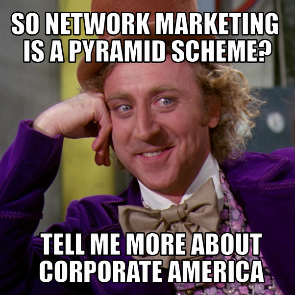main qimg 91f0c86dc9f574e9ac580421a0bf3a31 what is the difference between network marketing and a pyramid