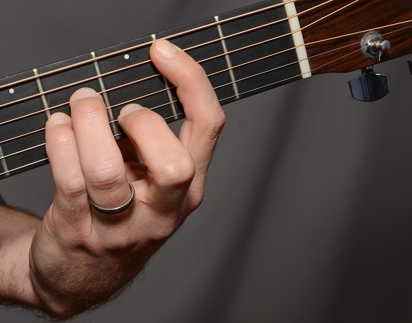 What are examples of easy ways to play the Bm chord on a guitar? - Quora