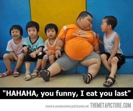 Meme Fat Chinese Kid