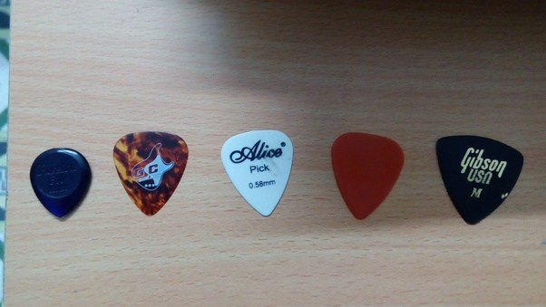 Whether You Are Playing Lead Or Chords Bass Always Keep One Pick In Your Wallet Pocket Which Helps To Play Where Ever Like