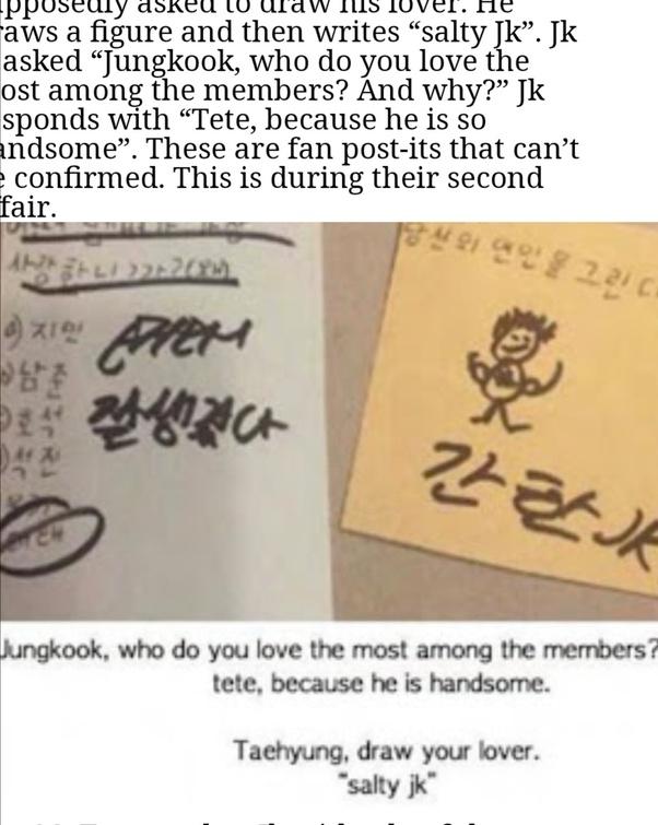 Taehyung And Jung Kook Handshake Clipart