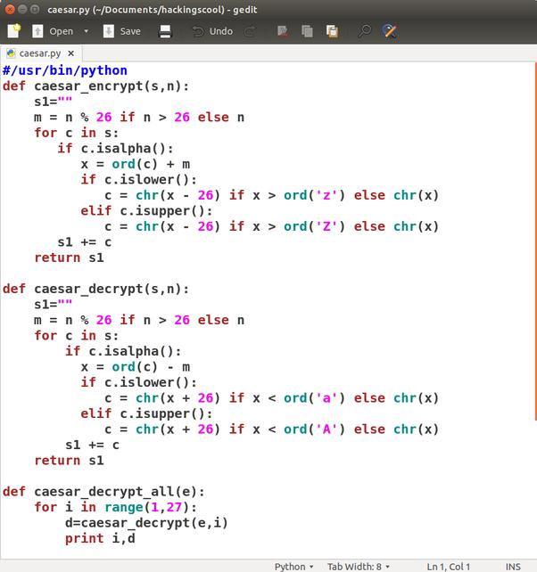 Python Go Through Alphabet Letters
