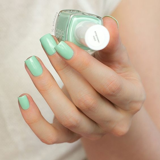 What nail color goes best with a forest green dress? - Quora