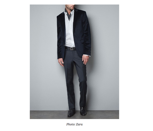 how to wear a white blazer with black pants