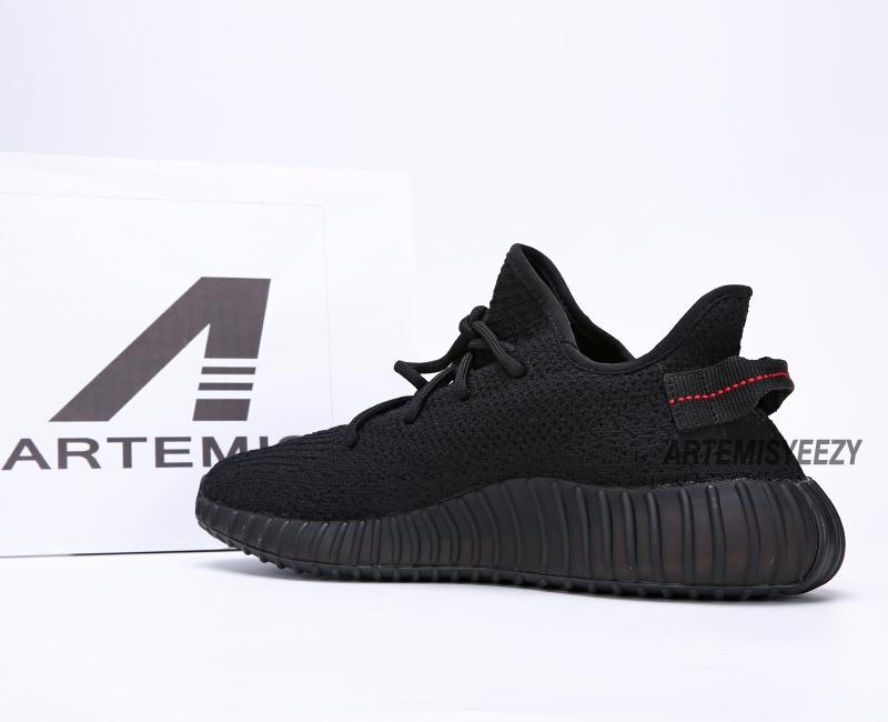 329ba5a565934 Here is Adidas Yeezy Boost 350 V2 SPLY-350 Black Black Red - Artemisyeezy