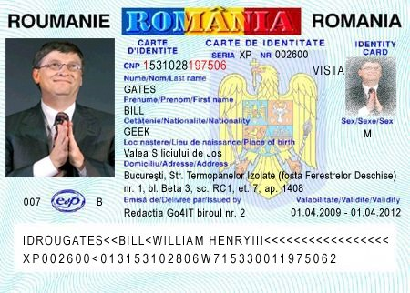What Form Of Id Is Carried By Most Romanians What Does It Look Like
