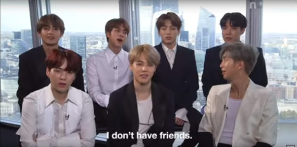 Does Jin from BTS actually have no friends besides BTS? - Quora