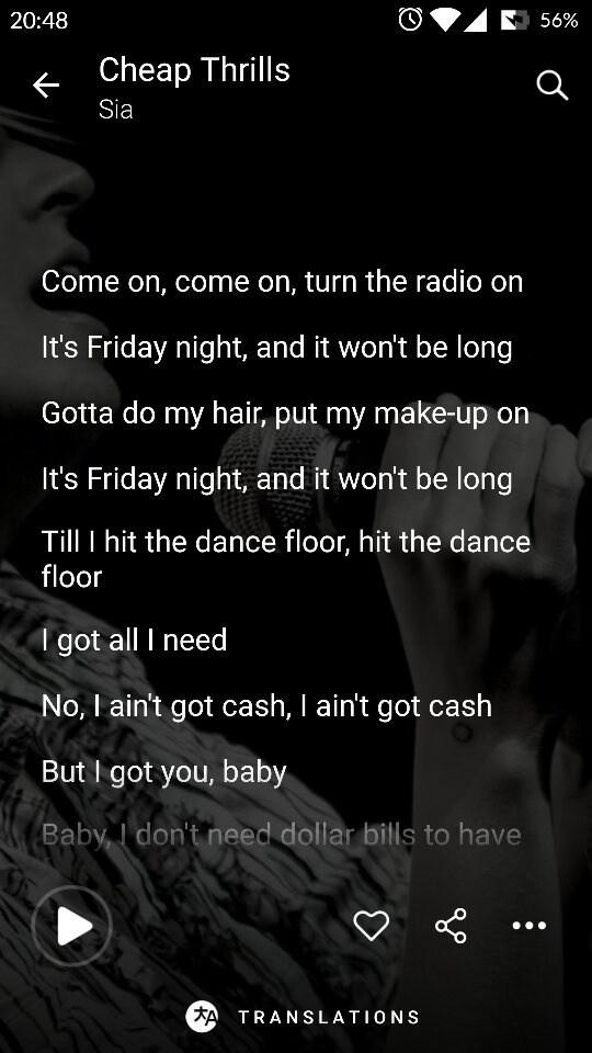 How to add lyrics to Google Play music - Quora