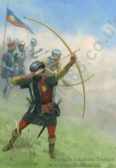 Did medieval archers actually wear the green cloaks worn by several