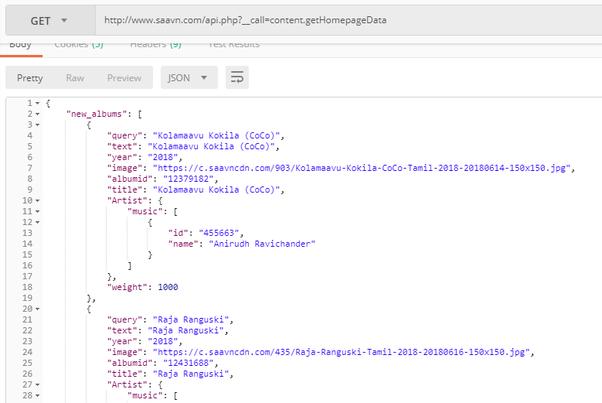 Does saavn provide open apis for developer? - Quora