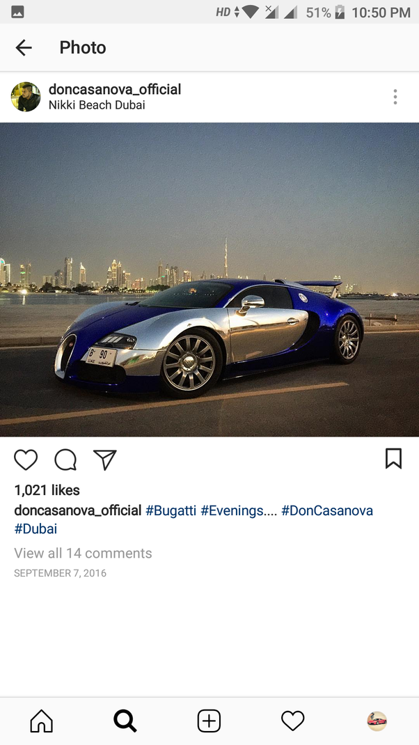 Who Has A Bugatti Veyron In India Quora