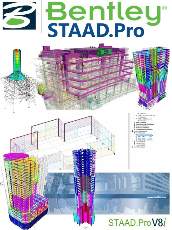 What Is The Difference Between Staad Pro And Staad Pro V8i Quora