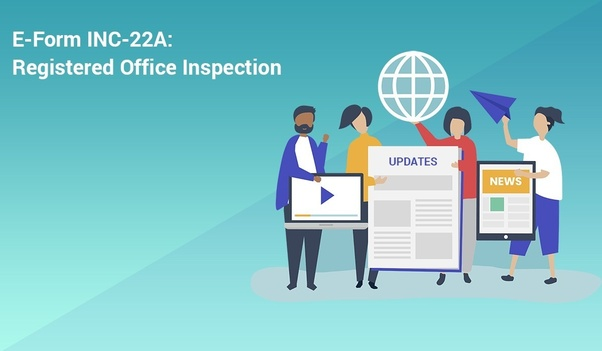 Instaspaces Virtual Office for Ministry of Corporate Affairs INC-22A ACTIVE Company Tagging Form, MCA Compliance and Company Registration