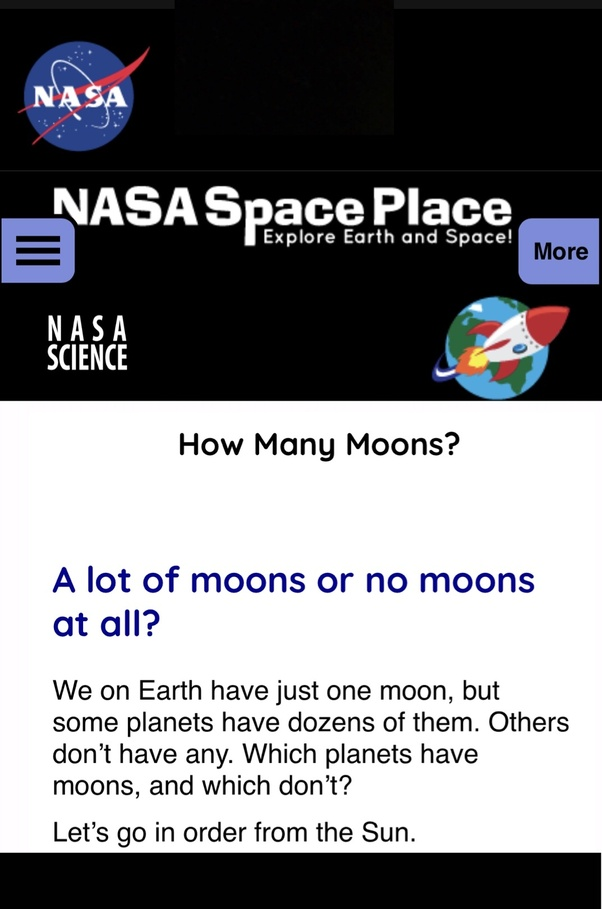 which planets in our solar system have moons and how many - photo #36