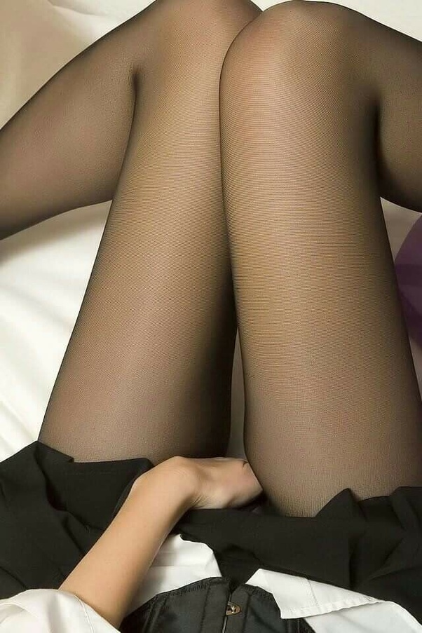 Masturbate with tights on