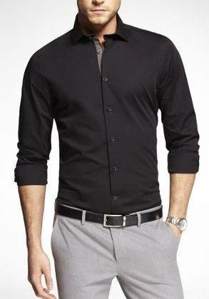 Which Should Be The Best Trouser Colour For Black Shirt For Interview? - Quora