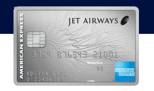 Jet Airways American Express Platinum Credit card