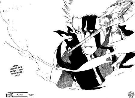 In This Mode Ichigo Is Able To Use Hollow Abilities Like The Gran Rey Cero Combination With His Getsuga Tenshou Although Not Specified I Think He Can