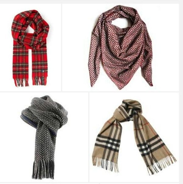 What is the difference between a cardigan and a scarf?