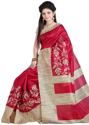 3eb730a8b02371 According to me, many sarees can look good for a day wedding. But the best colour  saree that looks good for the day, as well as night time wedding, ...