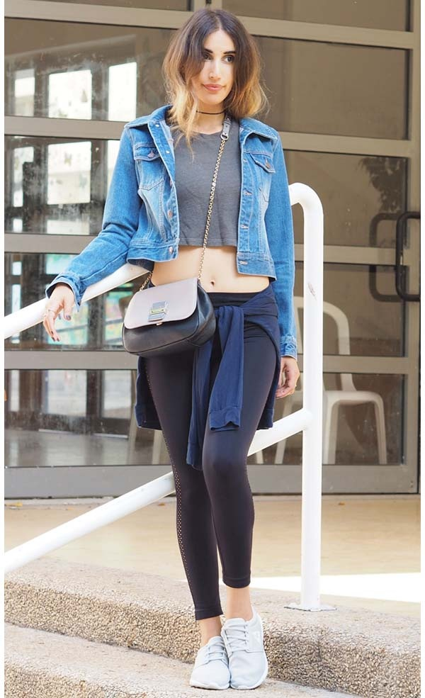 don t women feel their body is too exposed when they wear leggings