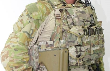 Which country's military has highest quality standard issue